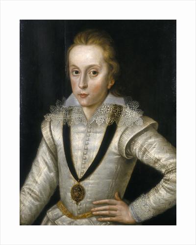 Portrait of Henry Frederick, Prince of Wales by Robert Peake the Elder