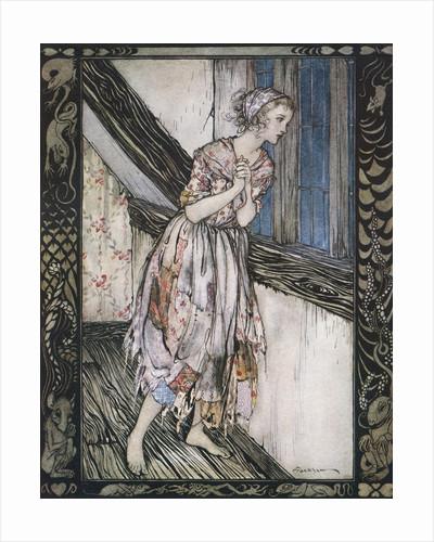 Cinderella by Arthur Rackham
