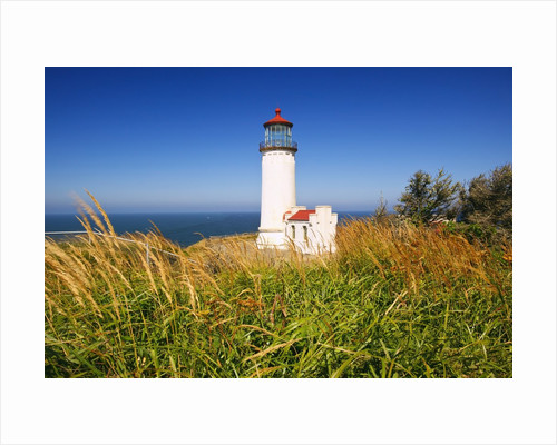 North Head Lighthouse, Washington State, Pacific Ocean, Pacific Northwest. by Corbis