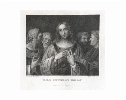 Christ Expounding the Law by Corbis