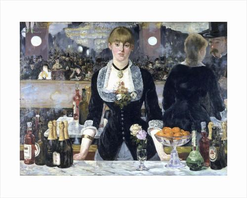 A Bar at the Folies-Bergère by Edouard Manet