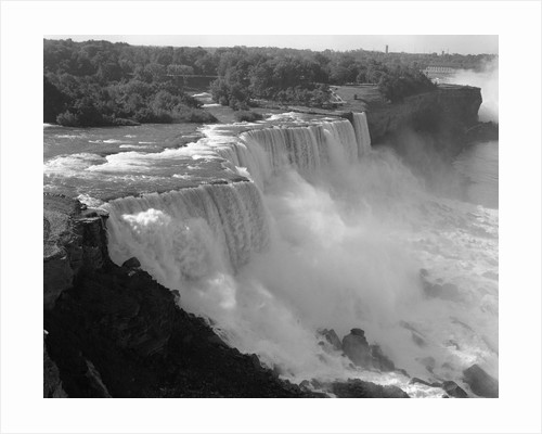 1960s american falls portion of niagara falls new york usa by Corbis