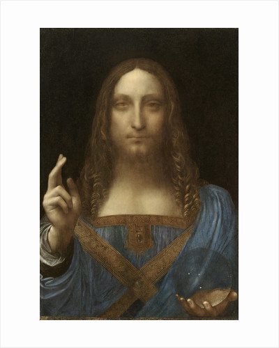 Salvator Mundi attributed to Leonardo da Vinci by Corbis