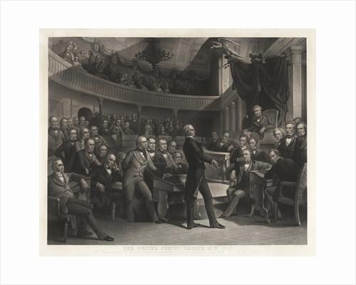 Senator Henry Clay speaking before the United States Senate by Corbis
