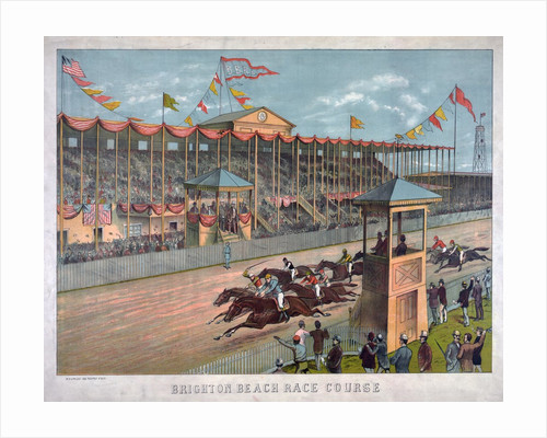 Brighton Beach Race Course by Corbis