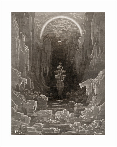 Ice Ship by Gustave Dore