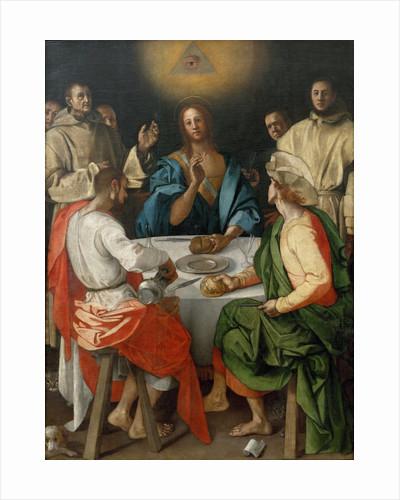 Cena in Emmaus (Supper at Emmaus) by Pontormo