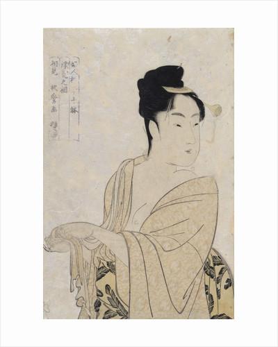 Flirtatious Lover by Kitagawa Utamaro