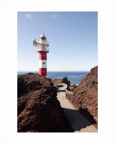 Lighthouse, Punta de Teno, Tenerife, Canary Islands, Spain by Corbis