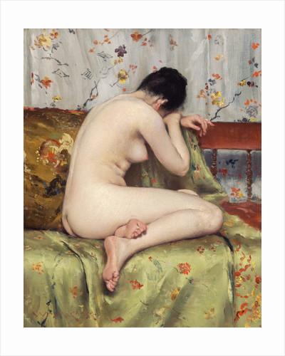 A Modern Magdalen by William Merritt Chase