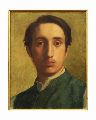 Degas in a Green Waistcoat by Edgar Degas