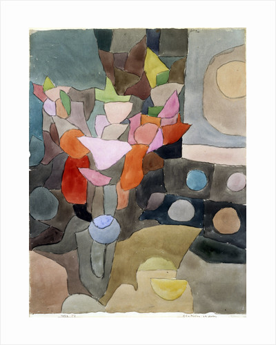 Still Life with Gladioli by Paul Klee