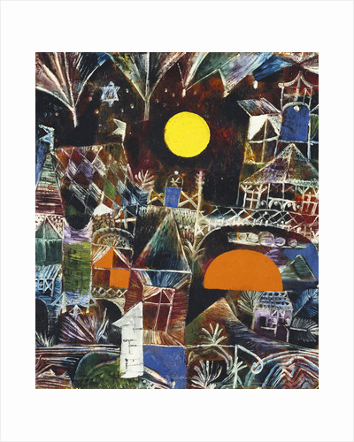 Moonrise - Sunset by Paul Klee