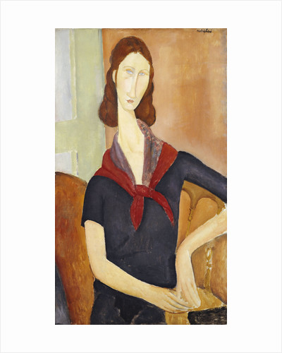 Jeanne Hebuterne (with a Scarf) by Amedeo Modigliani