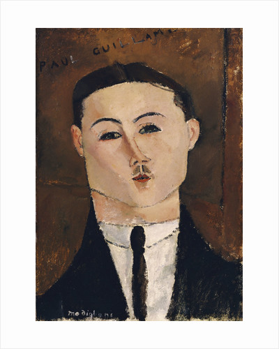 Portrait de Paul Guillaume by Amedeo Modigliani