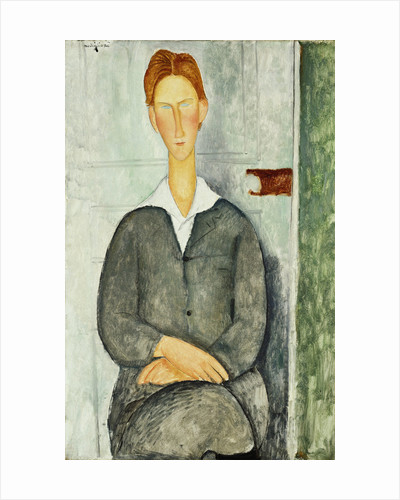 Young Man With Red Hair by Amedeo Modigliani