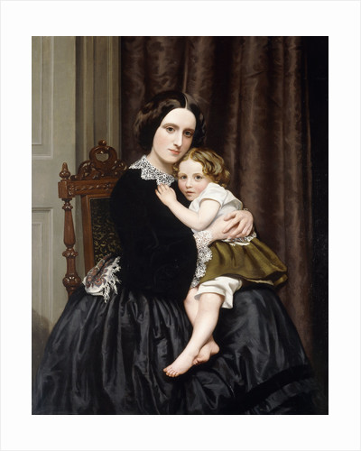 A Mother and Her Child by Robert Scott Tait