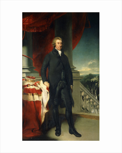 Portrait of Thomas, 1st Viscount Cremorne by Thomas Lawrence