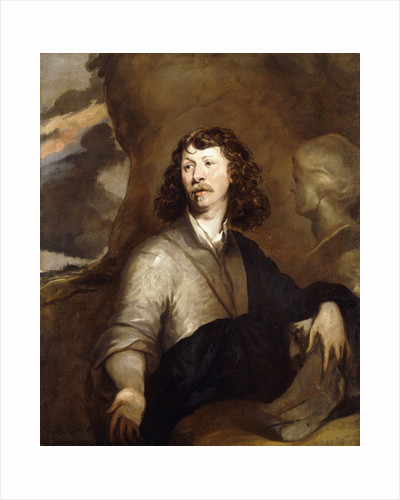 Portrait of a Gentleman, Possibly the Artist by William Dobson