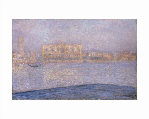 The Palazzo Ducale, Seen from San Giorgio Maggiore by Claude Monet