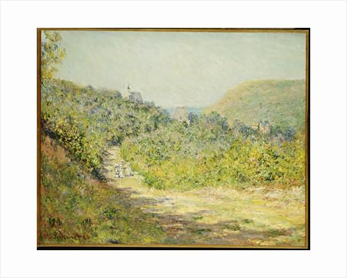 Aux Petites Dalles by Claude Monet