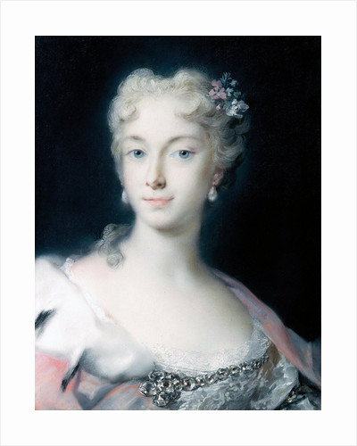 Maria Theresa, Archduchess of Habsburg by Rosalba Carriera