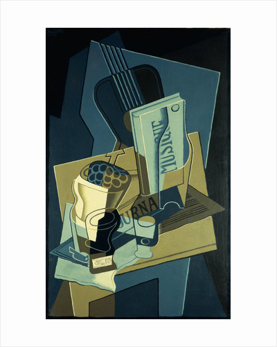Music Book by Juan Gris