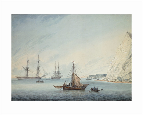Shipping Off Shakespeare's Cliff by Samuel Atkins