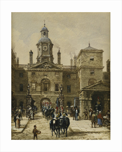 Horse Guards Parade by Louise Rayner