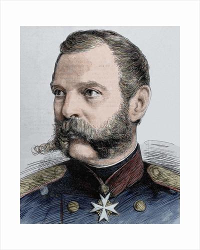 Alexander II (1818-1881). Tsar of Russia (1855-1881). Engraving by Corbis