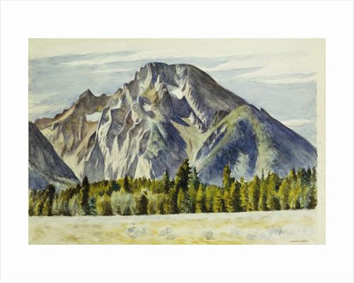 Mount Moran by Edward Hopper
