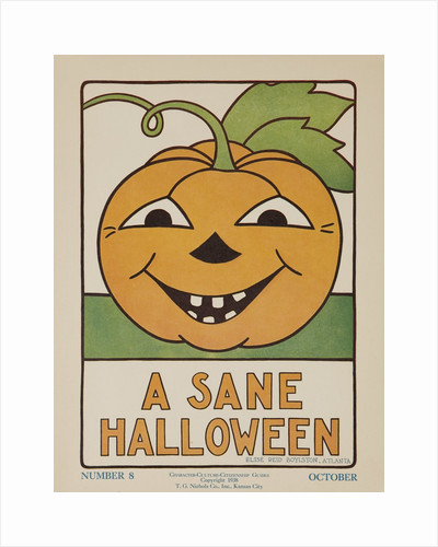 1932 American Citizenship Poster A Sane Halloween by Corbis
