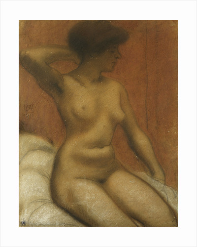 Seated Nude by Armand Rassenfosse