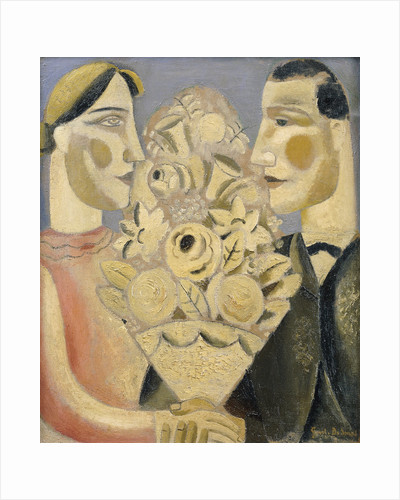 The Bouquet by Gustave de Smet