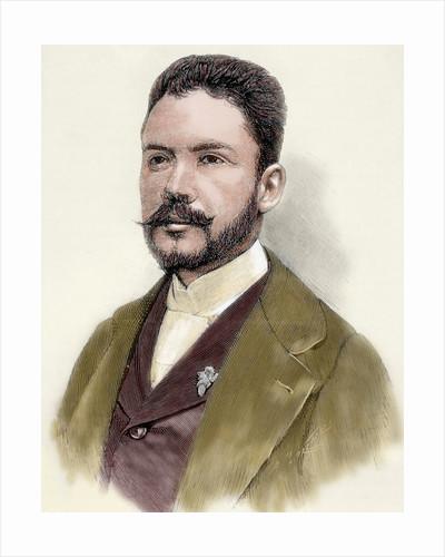 Dario, Ruben (1867-1916). Nicaraguan poet by Corbis