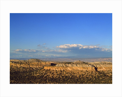 Landscape from scenic route to Los Alamos, New Mexico, USA by Corbis