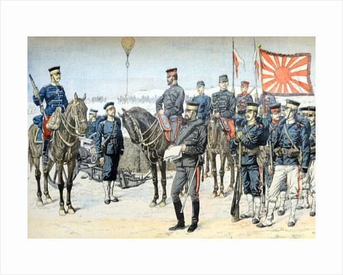 Uniforms of Japanese Army Russo-Japanese War (Jan 1904) by Corbis