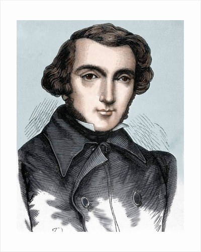 Tocqueville, Alexis Henri Clérete, Earl of (1805-1859). French writer and politician by Corbis