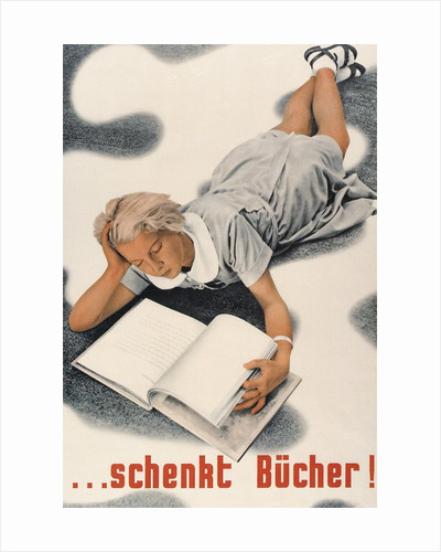 Give Books, German Poster by Corbis