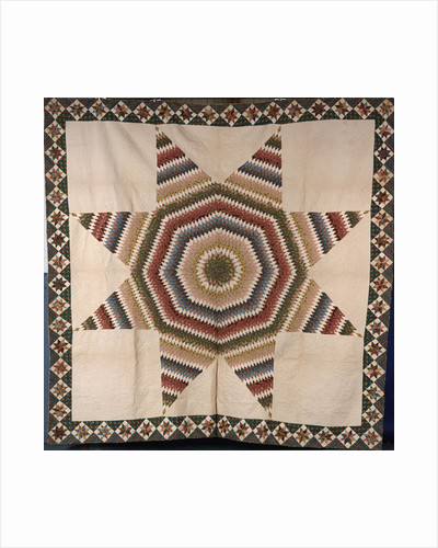 A rising star design coverlet by Corbis