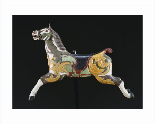 19th century carousel horse by Corbis