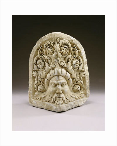 A large Roman marble akroteria by Corbis
