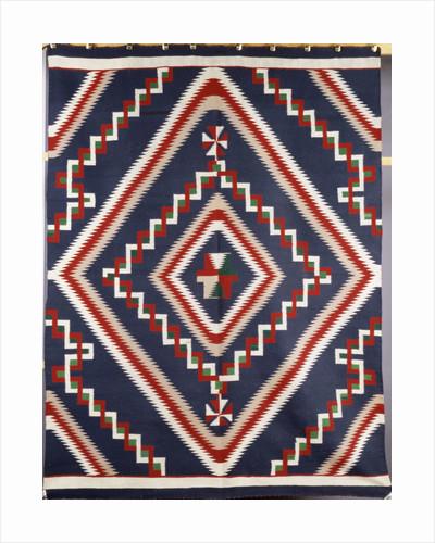 A Navajo Germantown Blanket by Corbis