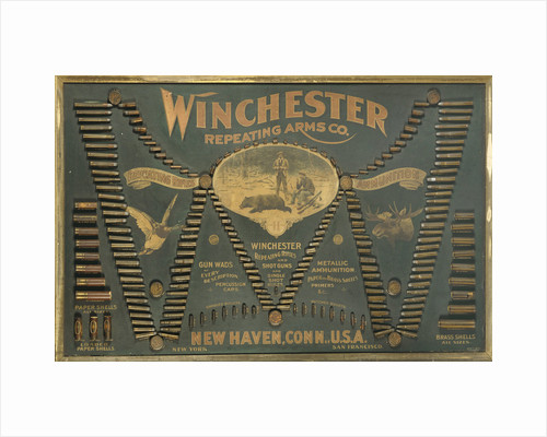 A Winchester Cartridge display board by Corbis