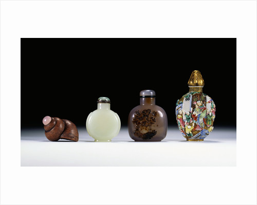 A collection of Chinese snuff bottles by Corbis