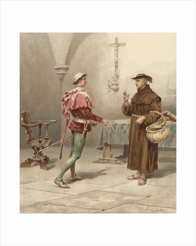 Book Illustration from Romeo and Juliet by William Shakespeare by Corbis