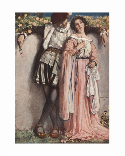 Book Illustration from Much Ado About Nothing by William Shakespeare by Corbis