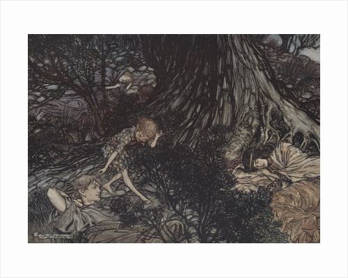 Illustration by Arthur Rackham from a Midsummer Night's Dream by William Shakespeare by Corbis