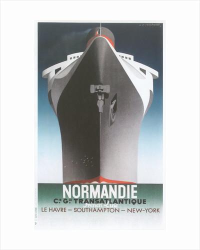 Normandie Ocean Liner by Corbis