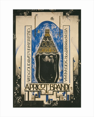 Dutch Art Deco Apricot Brandy Advertisement by Corbis